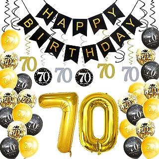 Best 70th birthday latex balloons Reviews