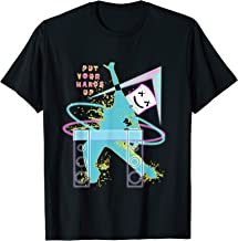 dancing dj with goofy marshmallow face for clubbing DejaVu T-Shirt