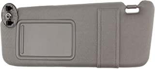 Wincept Left Driver Side Sun Visor for Toyota Camry and Camry HV with Sunroof and Light, Gray