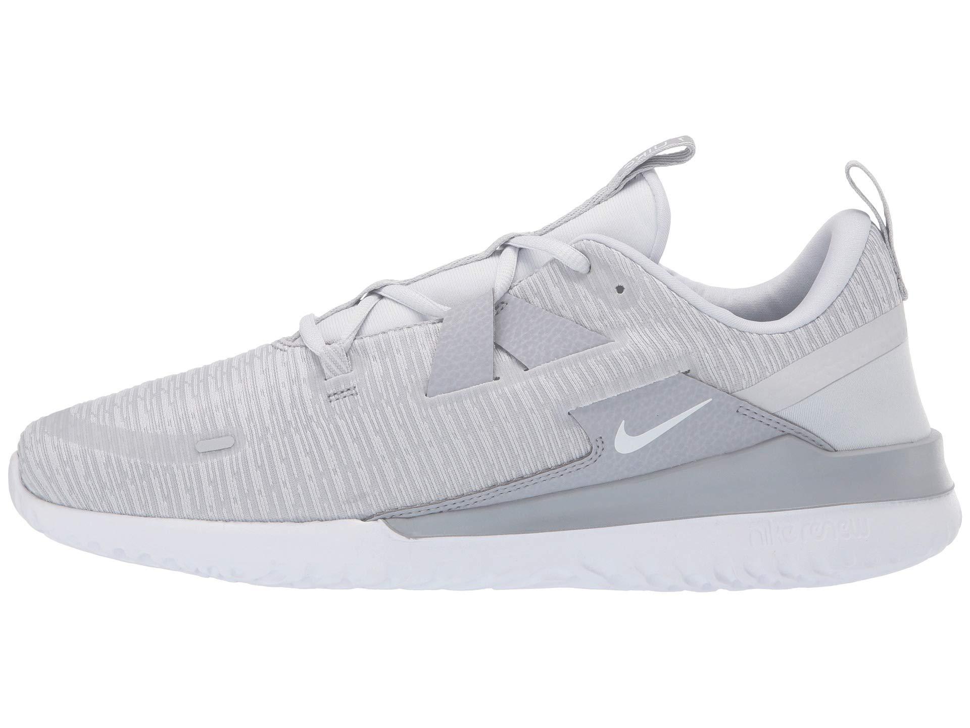 Grey Nike Wolf Platinum white pure Arena Renew 874qtw71