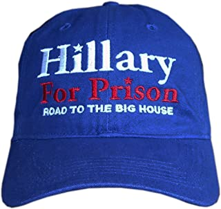 Hillary for Prison Hat - Road to The Big House Cap - (Royal Blue)