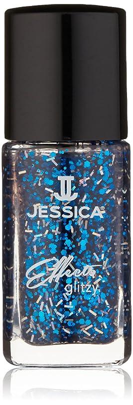 誠意処理するゴミ箱を空にするJessica Effects Nail Lacquer - Razzle Dazzle - 15ml / 0.5oz