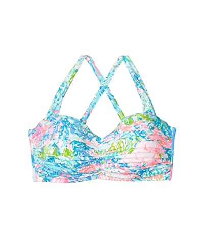 Lilly Pulitzer Drea Top (Multi Fished My Wish) Women