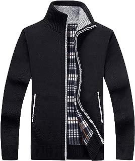 Mens Sweatshirt Full Zip Athletic Fleece Hoodies Jacket