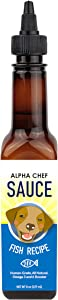 Alpha Chef Dog Food Topper Sauce - All Natural, No Preservatives, Great for Picky Eaters. Rich in Omega 3 & 6 - Boost Immune System, Reduce Inflammation, Promote Healthy Heart & Coat