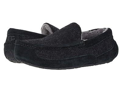 UGG Ascot Wool (Black TNL) Men