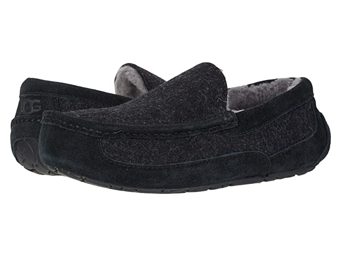 UGG  Ascot Wool (Black TNL) Mens Shoes