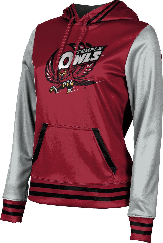 ProSphere Temple University Girls' Pullover Hoodie, School Spirit Sweatshirt (Letterman)