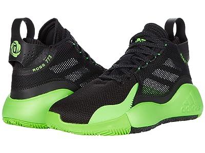 adidas D Rose 773 2020 (Black/Team Solar Green/Grey) Shoes