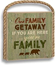 product image for Imagine Design Great Outdoors Our Family Getaway Refesh The Soul Hanging Plaque