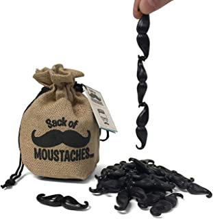 Getta1Games Sack of Mustaches - Game for Kids and Adults - Up to 8 Players for Parties and Family Game Night - Novelty and...