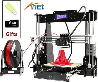 ANET A8 3D Printer, High Accuracy DIY 3D Printing Machine with Free 10m Filament & 8GB SD Card -Desktop 3D Printer Kit