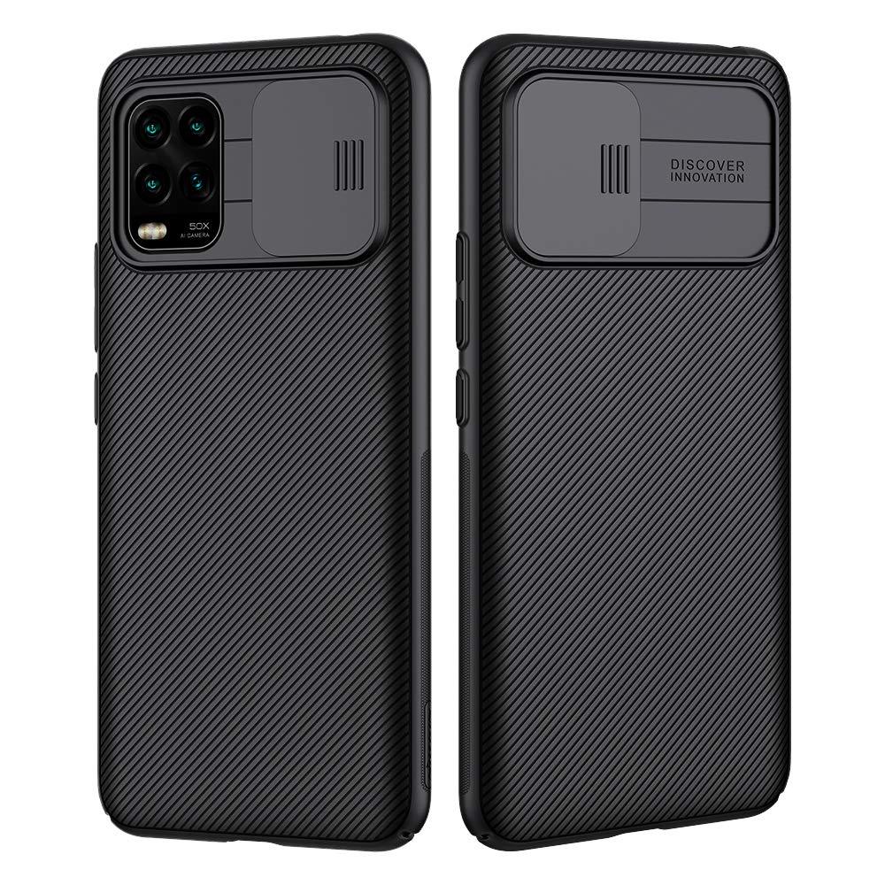 NILLKIN Funda Xiaomi Mi 10 Lite, [Protección de la cámara] Estuche híbrido Parachoques Premium no voluminoso Delgado Funda rígida para PC para Xiaomi Mi 10 Lite: Amazon.es: Electrónica