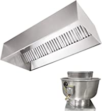 Sponsored Ad - Stainless Steel Commercial Exhaust Only Hood System, Includes Stainless Steel Exhaust Only Hood, Rooftop Ex...