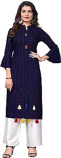 Vbuyz Women's Rayon Straight Kurti(VF-KU-488)