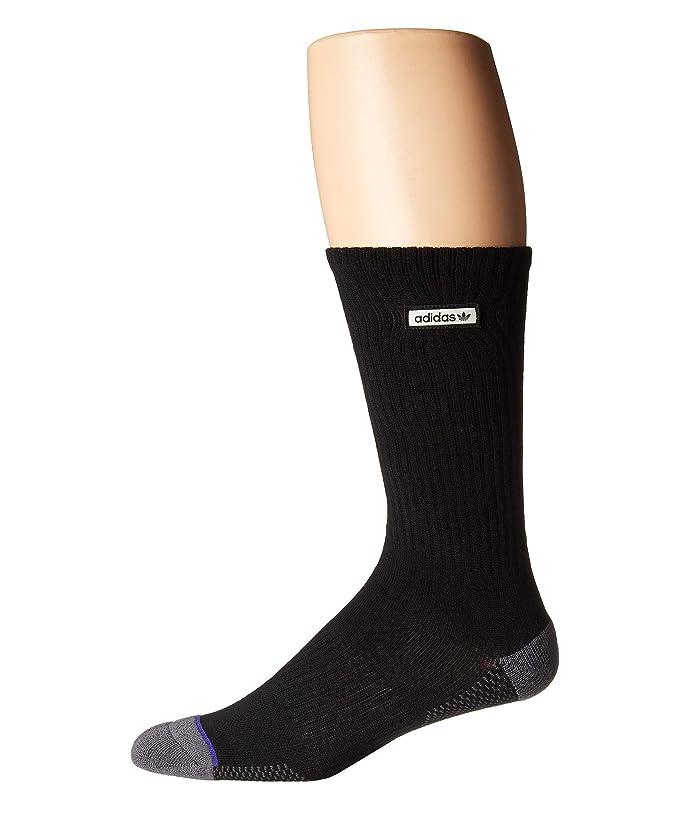 b414d1252d99e adidas Originals Originals Forum Patch Single Crew Sock   Zappos.com