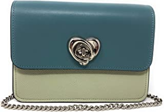 Bowery Crossbody in Colorblock with Heart Turnlock