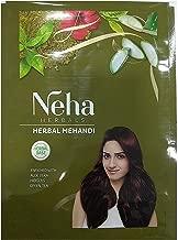 Neha Herbal Mehndi Pure & Natural Henna Mehandi Powder High Quality 55 Gm x 3 Pack