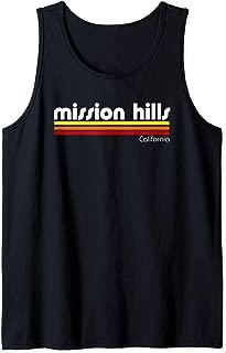 Retro Mission Hills California  Tank Top