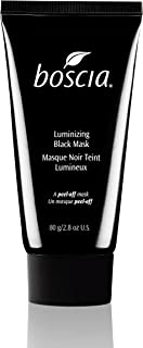 boscia Luminizing Black Charcoal Mask , Activated Charcoal and Vitamin C Pore-Minimizing Peel-Off Mask