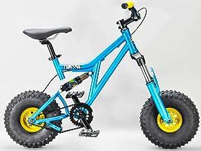 Rocker BMX Mini Rig Downhill Bike Teal elegir empuñaduras y ruedas color verde azulado