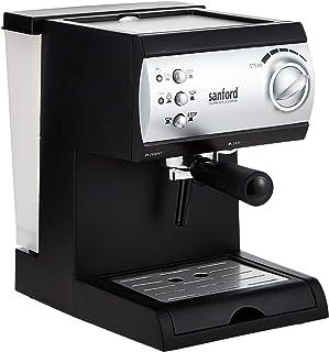 Sanford Espresso Coffee Maker 12 Cups - Sf1399Ecm Bs - Black and Silver