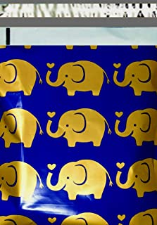 2.5 Mil 200 10x13 (Loving Elephant) Color Boutique Designer Poly Mailers Shipping Bags