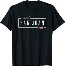 San Juan City State Puerto Rico Boricua Rican Country Flag T-Shirt