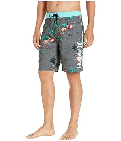 Hurley 20 Flamingo Boardshorts (Dark Grey) Men