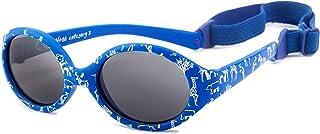 Kiddus - Gafas de sol POLARIZADAS bebe para niños y niñas a partir de 6 meses. SUPER FLEXIBLES. Protección solar UV400. Seguras, confortables, muy resistentes. Baby Comfort