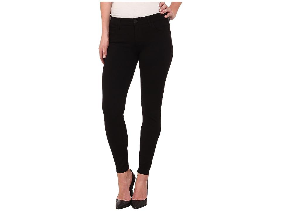 KUT from the Kloth Mia Toothpick Skinny Ponte Pant in Black (Black) Women