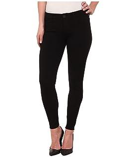 Mia Toothpick Skinny Ponte Pant in Black