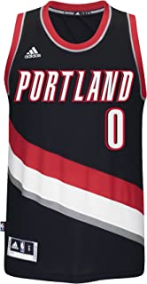 on sale 521f0 f5486 adidas Damian Lillard Portland Trail Blazers NBA Swingman Jersey - Black