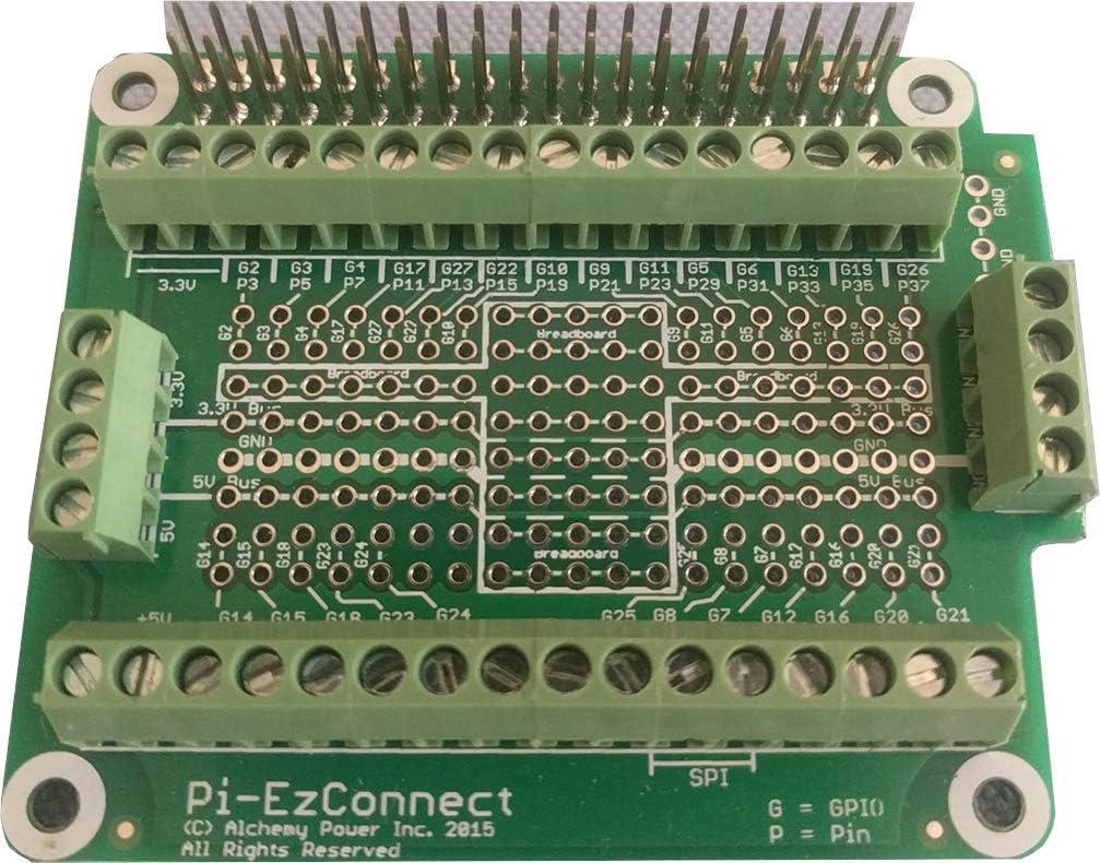 Alchemy Power Inc. Pi-EzConnect. Raspberry List price Pi C GPIO etc 3 Super sale 4