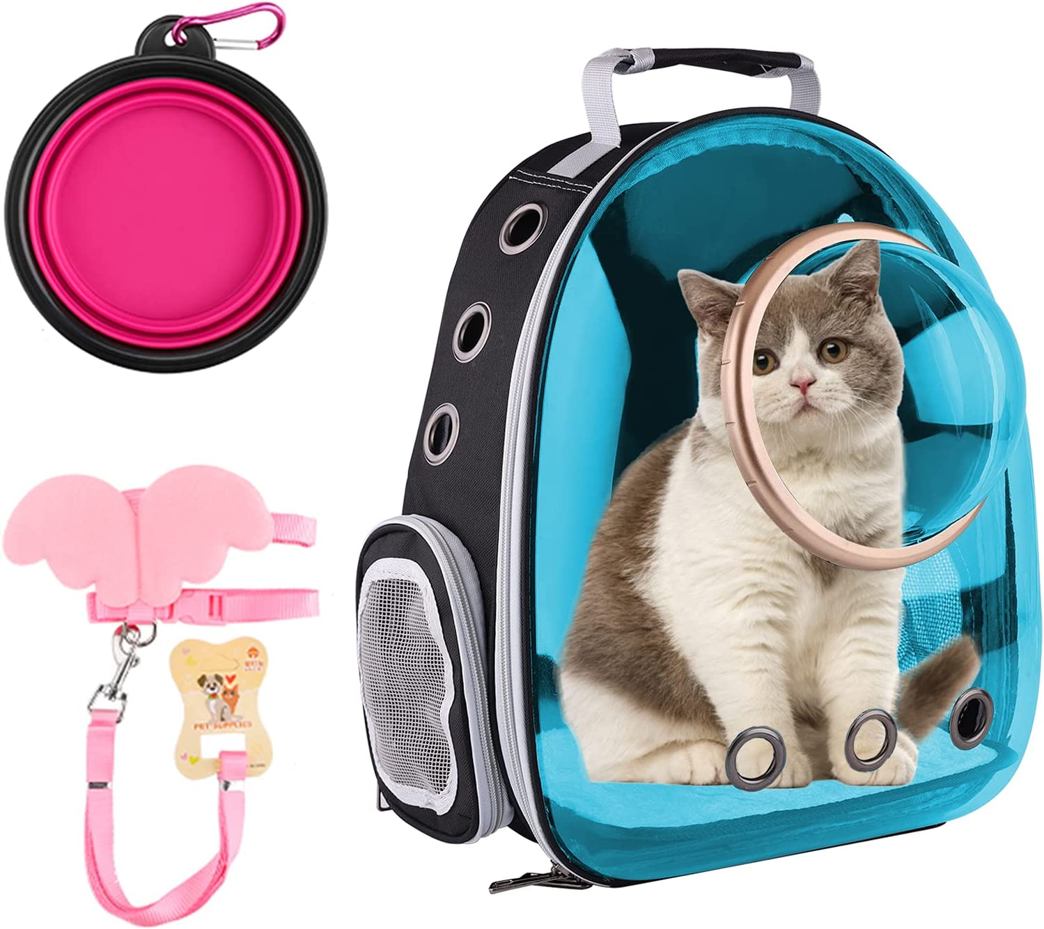 FPVERA Cat Backpack Carriers Selling Recommended Pet for Bubble Ca