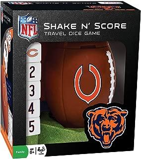 NFL Chicago Bears Shake 'n Score Dice Game