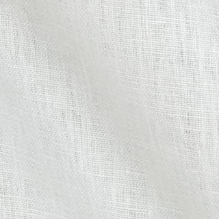 Robert Kaufman Kaufman Waterford Linen White Fabric by The Yard