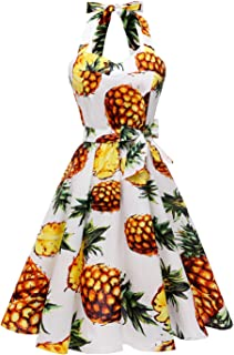hawaiian pineapple dress