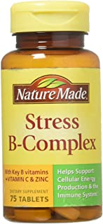 Nature Made Stress B Complex With Zinc Size 75ct (Pack of 2) 150 ct total