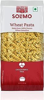 Amazon Brand - Solimo Durum Wheat Fusilli Pasta, 500g