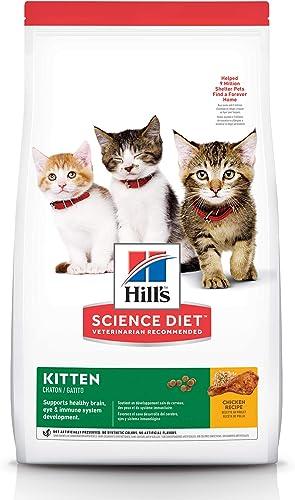 Hill's Science Diet Kitten Chicken Recipe Dry Cat Food 10kg Bag