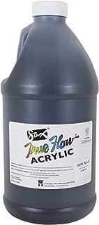 Sax True Flow Heavy Body Acrylic Paint, 1/2 Gallon, Mars Black - 439298