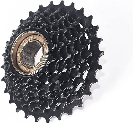 EBIKELING 7 Speed Freewheel - 14-28 Bike Sprocket / 8 Speed Freewheel - 13-28 Bike Sprocket