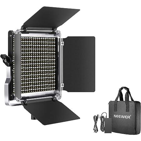 Neewer 660 LEDビデオライト 調光可能な二色写真照明キット APPインテリジェント制御システム 3200K-5600K メタル LCDスクリーン付き YouTube撮影、スタジオ撮影、ビデオ撮影対応