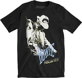 Men's Serious Moonlight Tour '83 Slim Fit T-Shirt Black