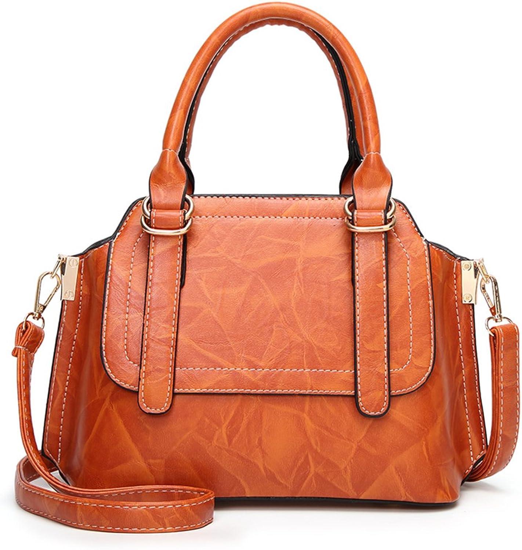 MIMI KING Retro Schulter Messenger Bags Bags Bags Für Frauen Drucken Reine Farbe Einfache Art Fashion Tote Handtasche B07D36D8JK  Kaufen Sie online 6f13d5