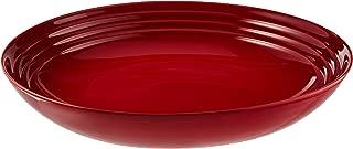 le creuset stoneware serving bowl