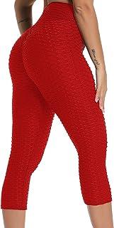 comprar comparacion FITTOO Mallas 3/4 Leggings Capris Mujer Pantalones Yoga Alta Cintura Elásticos Super Suave