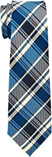 Retreez Retro Styles Tartan Plaid Woven Boy's Tie - 8-10 years - Various Colors