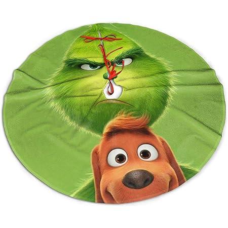 "Seuss The Grinch /""Merry Grinchmas!/"" 48/"" Tree Skirt New Universal Studios Dr"